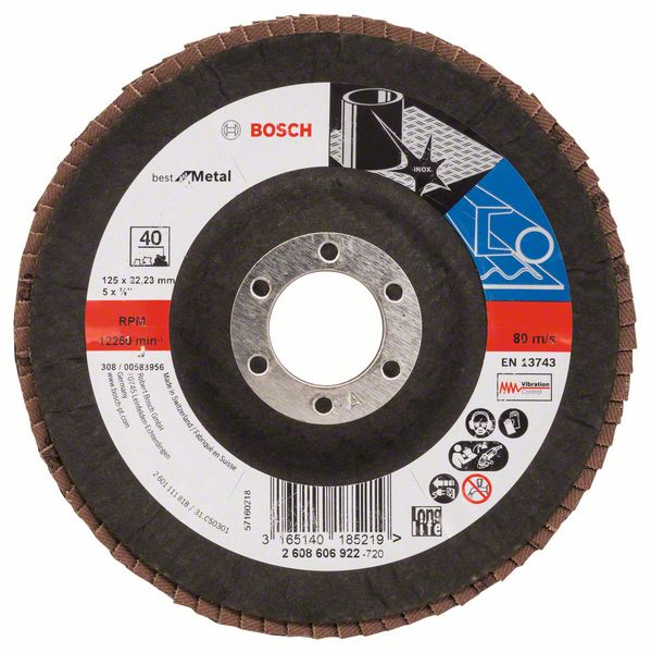 Лепестковые  шлифкруги (КЛТ) для металла и нержавеющей стали