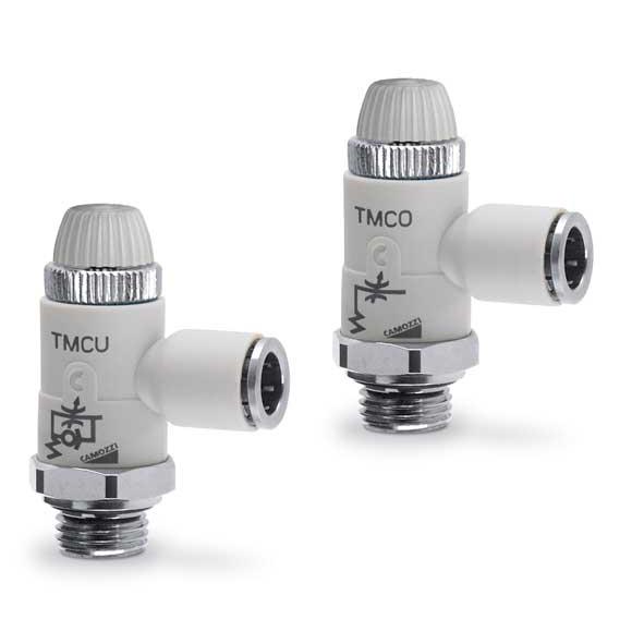 Пневмодроссели. Серия TMCU - TMVU - TMCO.