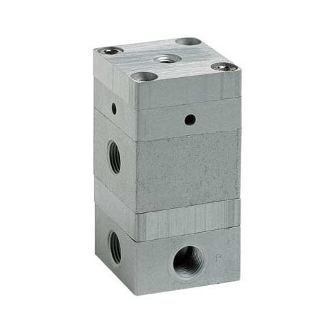 Клапан-усилитель с пневматическим управлением. Серия 2L.