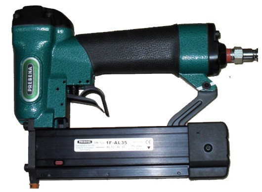 Пневматический шпилькозабивной пистолет (микрошпилечник) Prebena 1F-AL35