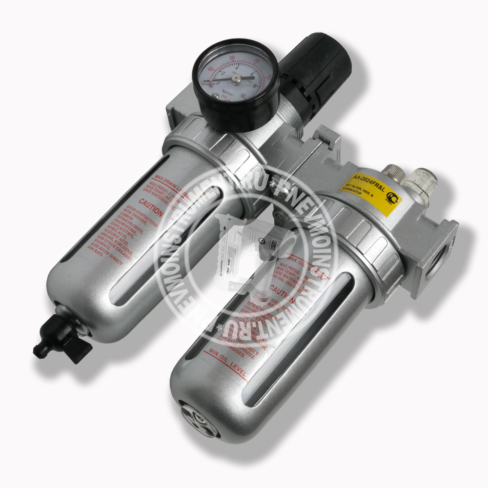 Фильтр, распылитель масла, регулятор давления TNT AA-2024FR&L
